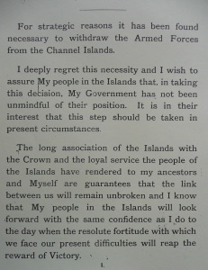 Troop Withdrawal Letter